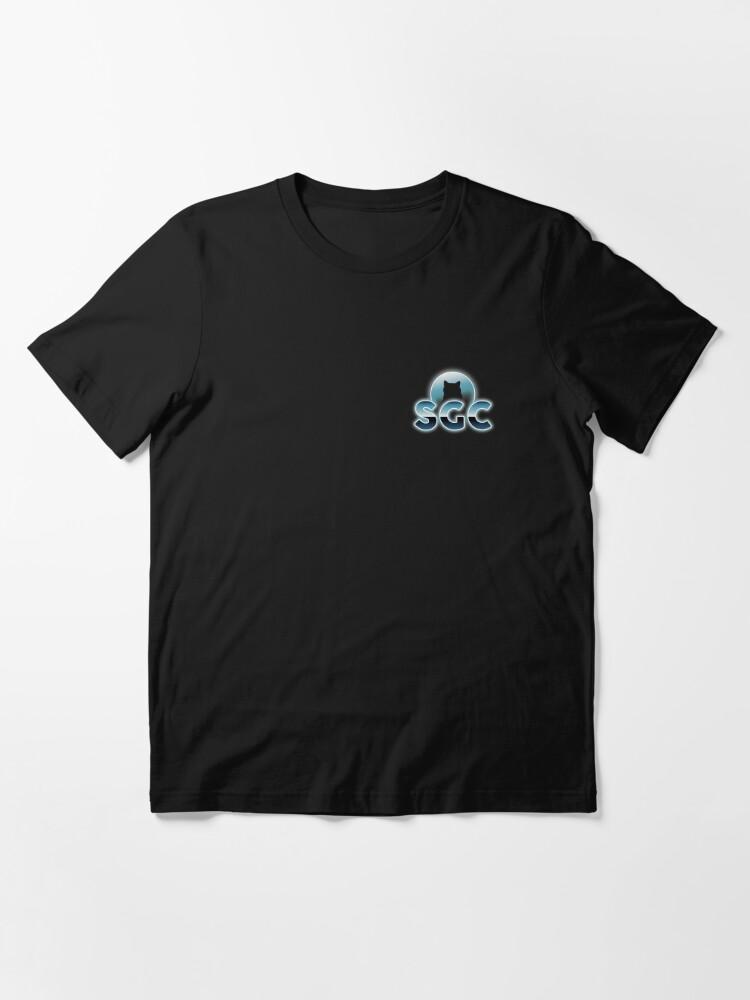 T-shirt essentiel ''Shadow Gaming Communautaire SGC Sticker ': autre vue