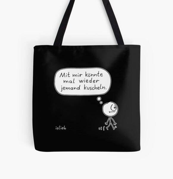 Kuschelbedarf Allover-Print Tote Bag