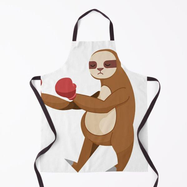 Sloth boxer Apron
