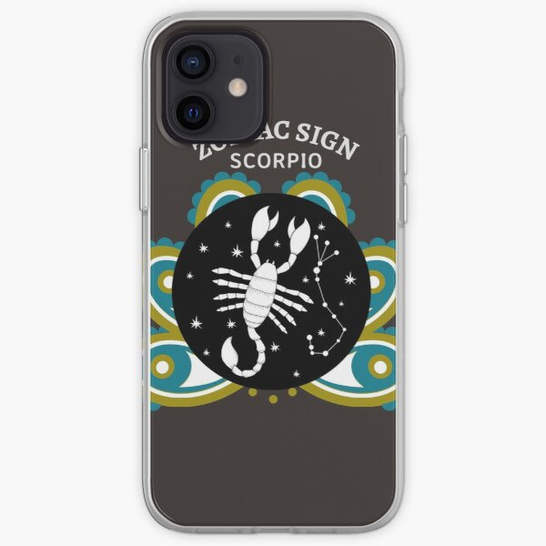 Scorpio as another Zodiac Sign  iPhone Soft Case