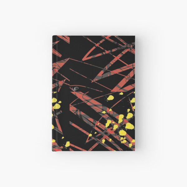 Red Lines Hardcover Journal