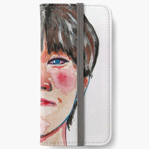 Sad clown iPhone Wallet