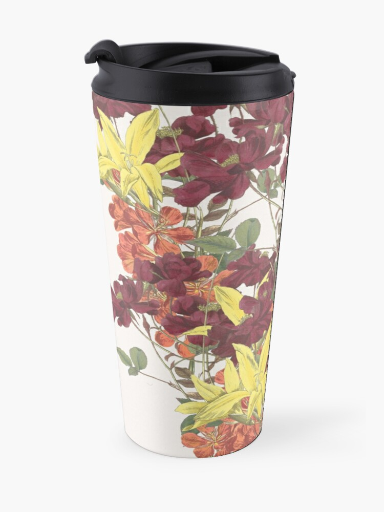 Alternate view of Bouquet of Rose, Freesia and Gladiolus Travel Mug