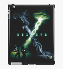 X FILES BELIEVE iPad Case/Skin
