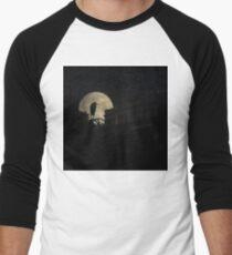 Night Of The Heron Men's Baseball ¾ T-Shirt