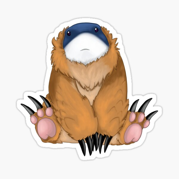 Baby Bearshark Sticker