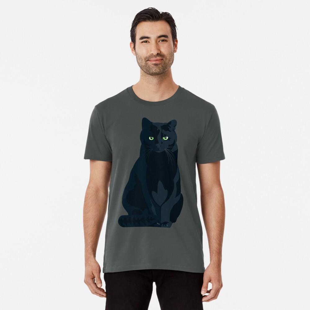 T-shirt premium «Chat Shadow Gaming Communautaire»