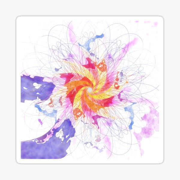 Mandala 11 (Supernova) Sticker