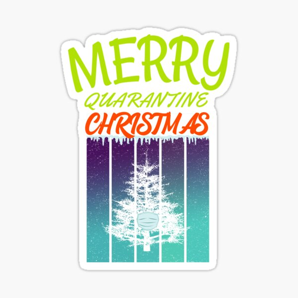 Christmas tree 2020 Sticker