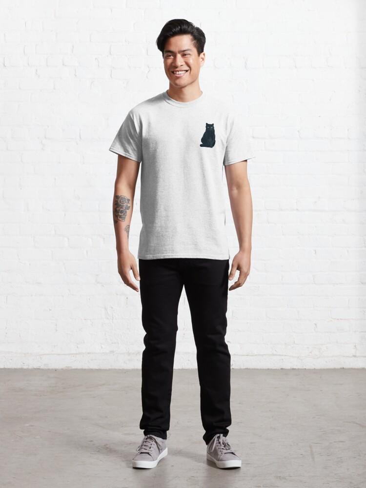 T-shirt classique ''Chat Shadow Gaming Communautaire': autre vue