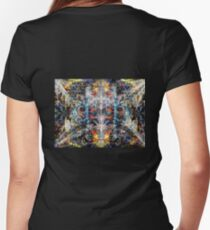deCeptive PerCeption Women's Fitted V-Neck T-Shirt