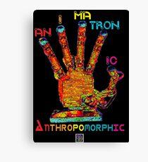 """""""Animatronic Anthropomorphic""""© Canvas Print"""