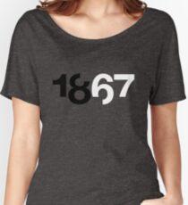 1867 Blue Women's Relaxed Fit T-Shirt