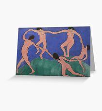 Matisse - Dance Greeting Card
