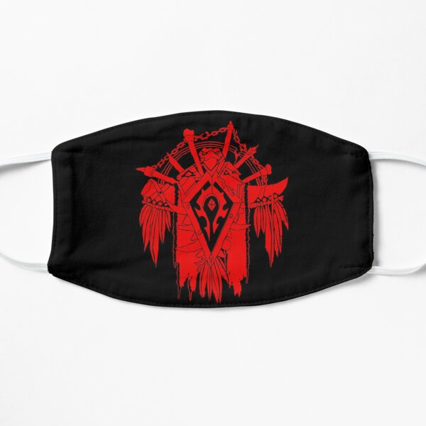 Horde - World of Warcraft Flat Mask