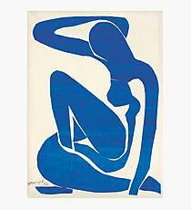 Matisse Blue Nude II Photographic Print