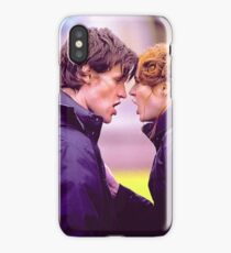 Matt Smith and Karen Gillan iPhone Case/Skin