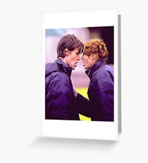 Matt Smith and Karen Gillan Greeting Card