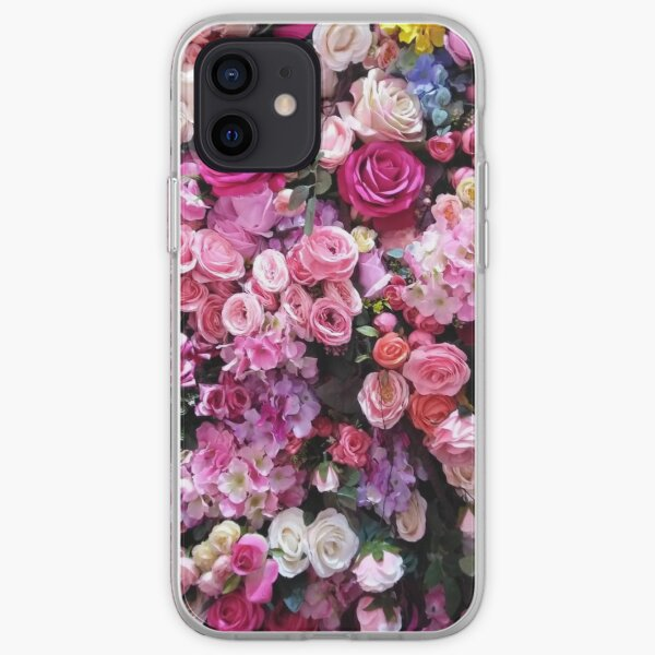 Cas floral Coque souple iPhone