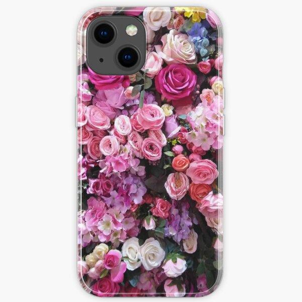 Blumenetui iPhone Flexible Hülle