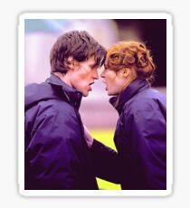 Matt Smith and Karen Gillan Sticker