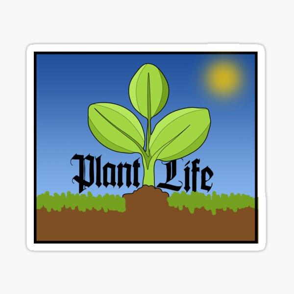 Plant Life; Word! Sticker