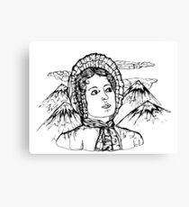 Elizabeth Bennet Canvas Print