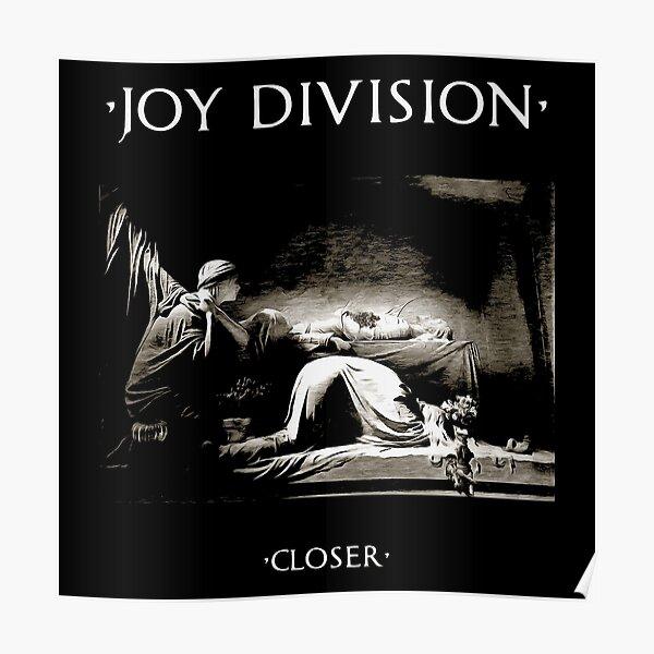 Closer Album Art Joy Division Poster