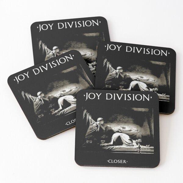 Closer Album Art Joy Division Coasters (Set of 4)