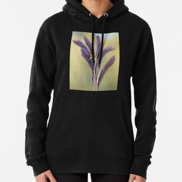 Purple Patch Pullover Hoodie