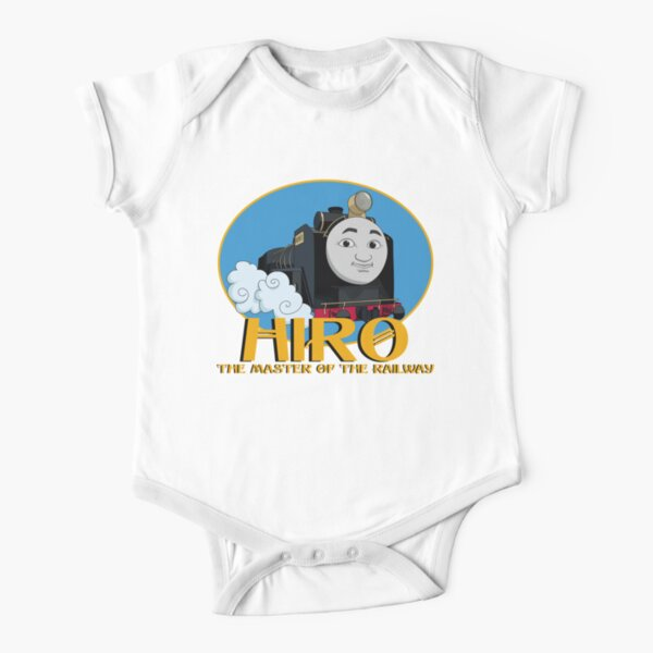 Hiro - The Master of the Railway Short Sleeve Baby One-Piece