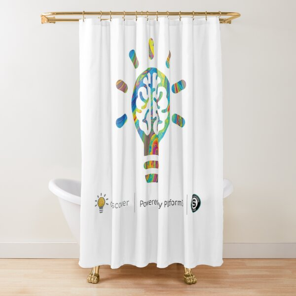 Discover: Powered by Platform3 Shower Curtain