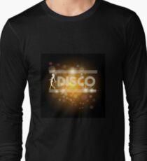 Disco music design Long Sleeve T-Shirt