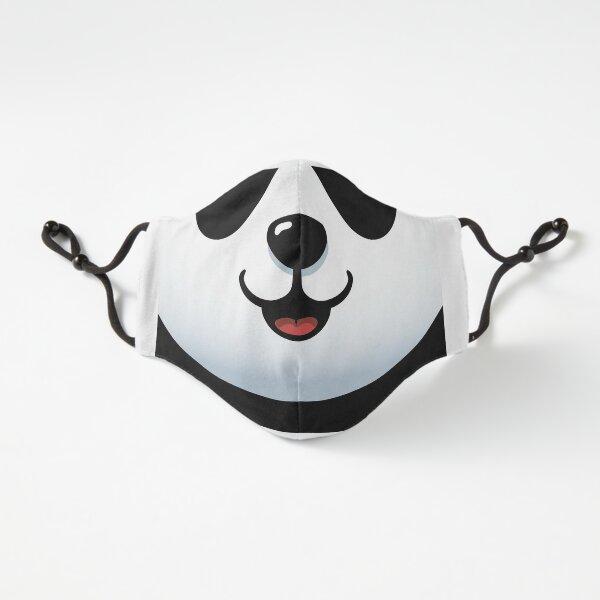 Pandamische Maske - Pelzige Gesichtsmaske - Lustiger Panda Passgenau (3-lagig)