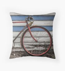 Northcote Vintage Bicycle Throw Pillow