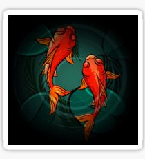 The Fishes Sticker