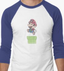 Mario Mache Men's Baseball ¾ T-Shirt