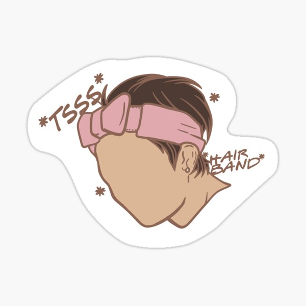 Tsss, diadema Hyunjin Pegatina