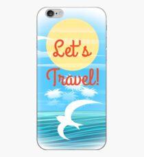 Travel theme iPhone Case