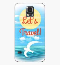 Reisethema Hülle & Klebefolie für Samsung Galaxy