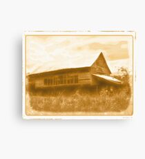 """Granny's Mansion (also known as, 'The Big House')""... prints and products Canvas Print"