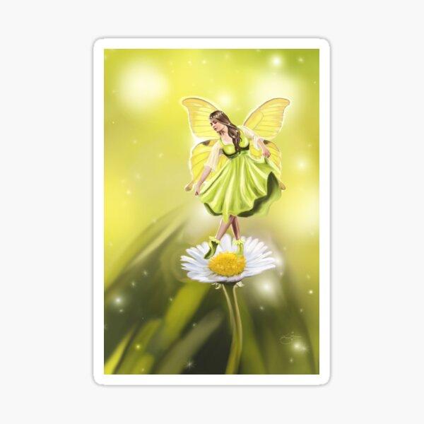 Daisy Fairy Sticker