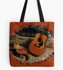 """""""Leather, Wood, Strings, and Straw""""... prints and products Tote Bag"""