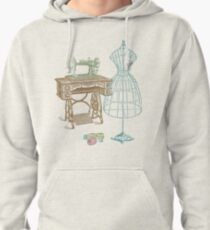 Dressmaker Kit of Dress Form, Sewing Machine and T Pullover Hoodie