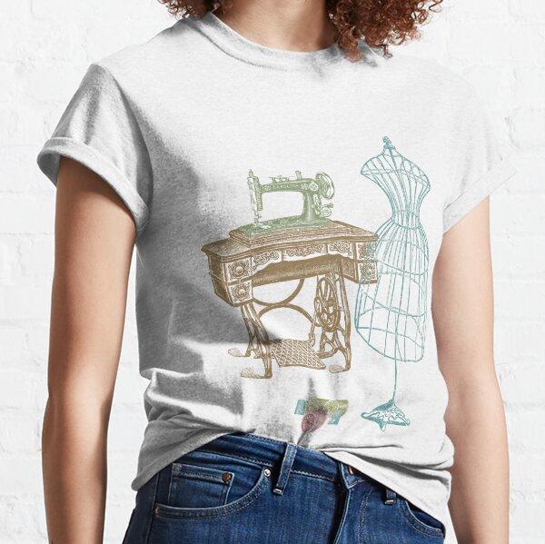 Dressmaker Kit of Dress Form, Sewing Machine and T Classic T-Shirt