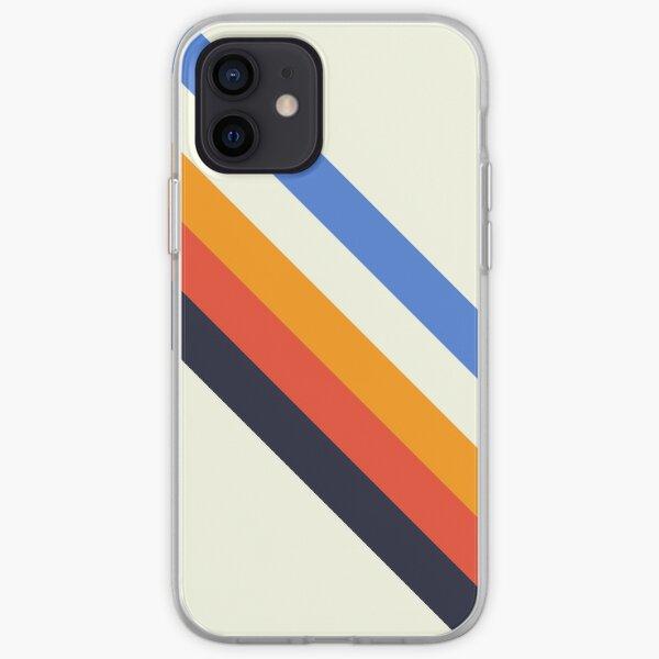 Retro 70s Stripe Design iPhone Soft Case