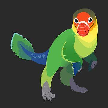 Dino Birds - Lovebird de Fischer de kaenith