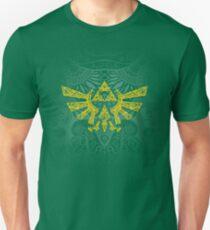 Camiseta unisex Emblema Hyrule Amarillo