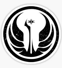Star Wars The  Old Galactic Republic Sticker