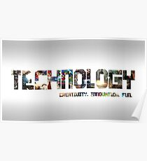 Technology and Gaming Poster